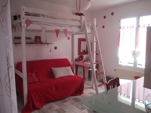chambre dans notre maison à Perthes - Perthes - Casa