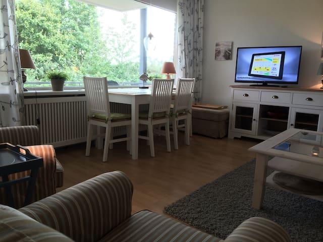 Helle Strandwohnung in Wyk  - Wyk auf Föhr - Apartament