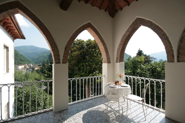 B&B with stunning views in Tuscany - Bagni di Lucca - Bed & Breakfast