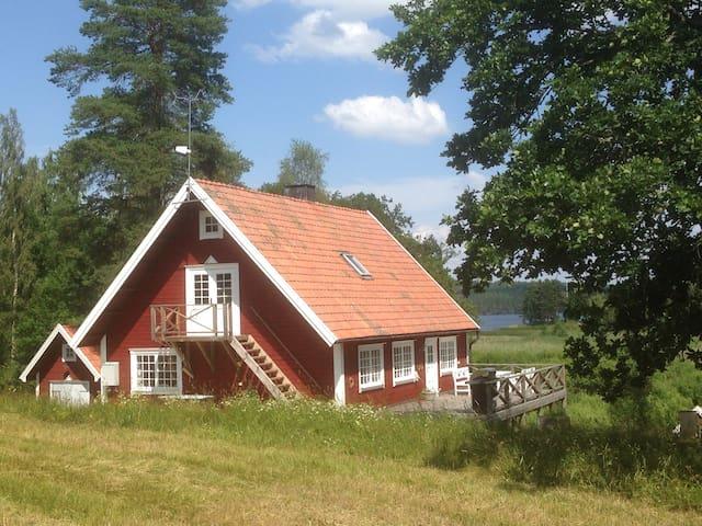 National romantic cottage near lake - Torpa - Cabaña