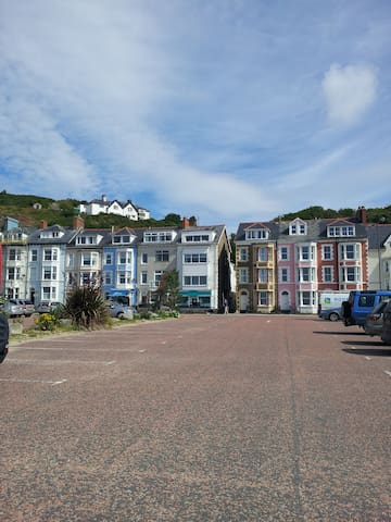 Lovely seafront 2 bedroom apartment - Aberdovey - Appartement