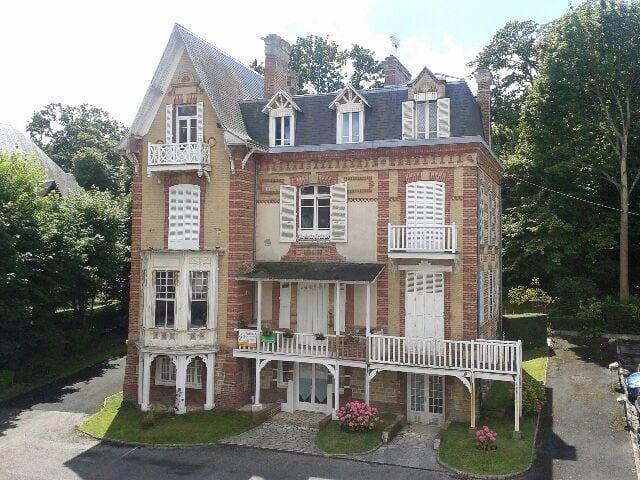 Villers , Villa charme studio 40m2 - Villers sur mer - Apartemen