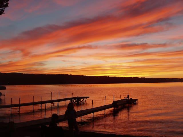 Finger Lakes Cape at Owasco Lake NY - Owasco - Hus