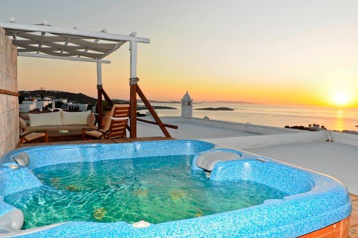Orange Suite in Mykonos Town - Mykonos - Leilighet