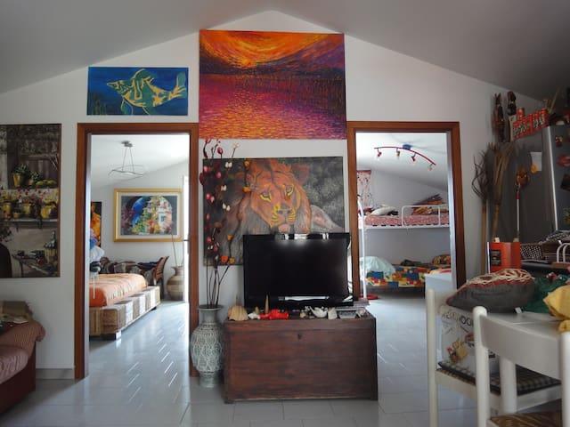 Accogliente bilocale vista mare - Roccalumera - Huoneisto