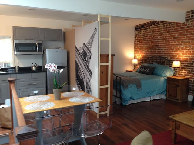 Carriage House in Capitol Hill - Washington - Loft