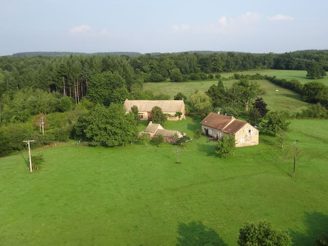 Calme absolu, vue, charme, nature - Rigny-sur-Arroux - Huis