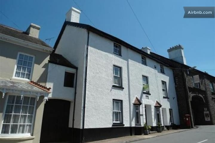 Spacious twin room in family home - Llangadog - Bed & Breakfast