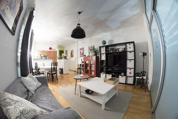 Joli appartement spacieux  - Villars-sur-Glâne