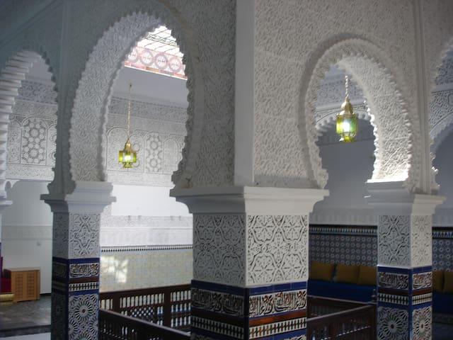Riad Tetuan, precioso palacio Hab 1 - Tetouan - Talo