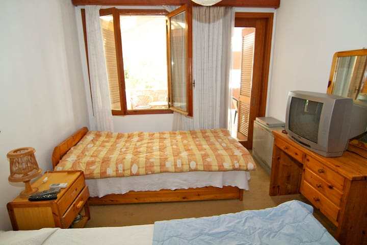 Twin bedroom in North Athens villa - Nea Penteli - Bed & Breakfast