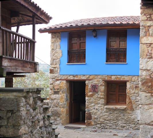 Casa de Aldea, alojamiento rural - Castiellu - Huis