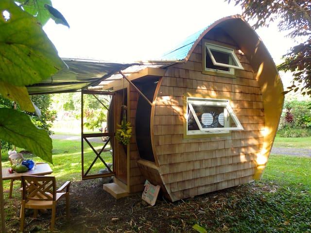 Eco-Retreat: DolphinPod Glamping - Pāhoa - Bed & Breakfast