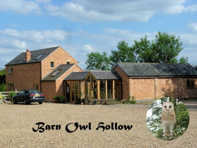The West Wing, Barn Owl Hollow Double Room Ensuite - Market Harborough