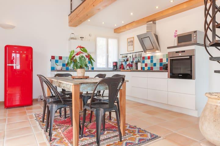Maison de charme en Provence - Carnoules - Hus
