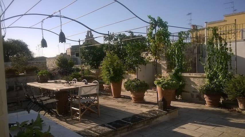 La stanza sulla terrazza - Lecce - Rumah