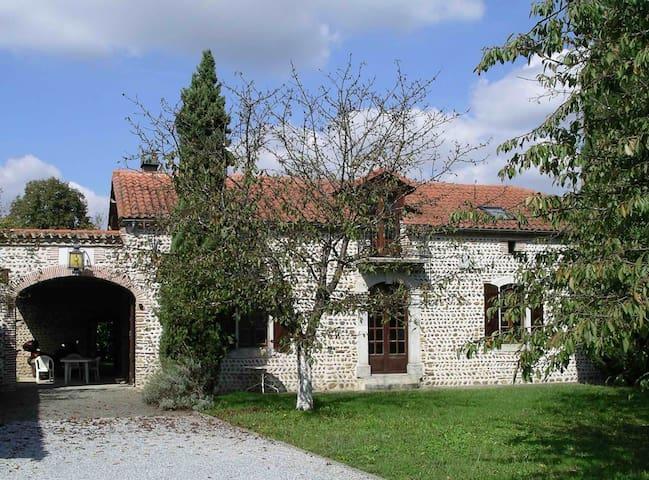 Superb 19th Century Farmhouse - Caixon - Huis