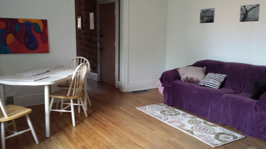 Urban Apt near Shaker Square 6 - Cleveland - Appartement