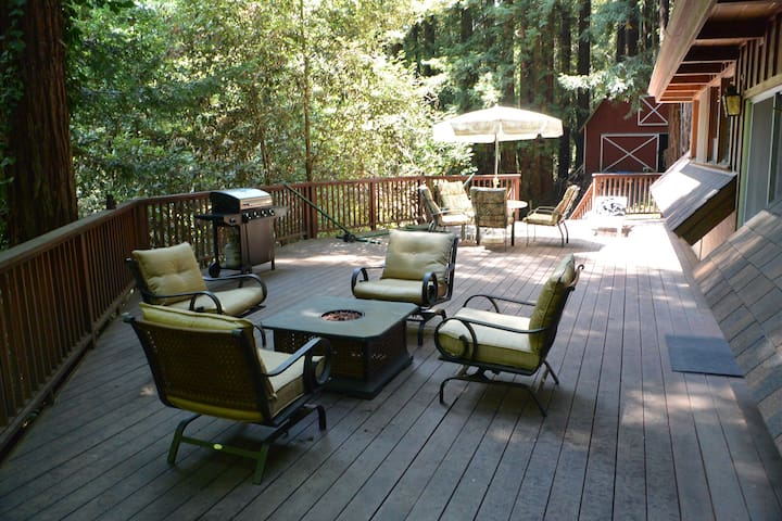 Retreat in Redwoods - see listing end for discount - Watsonville - Cabaña