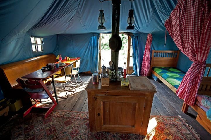Camping Warmgroen - Etten - Barraca