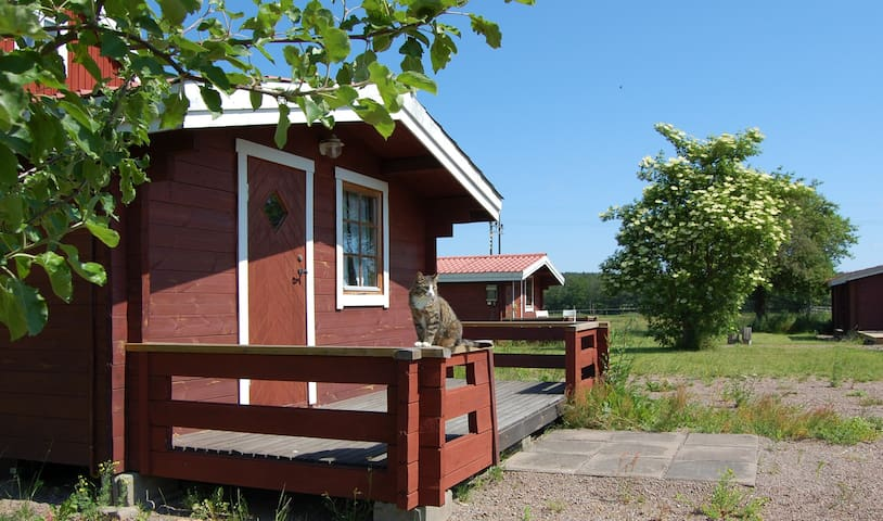 The Pysen cabin next to the river Emån - Högsby - Cabaña