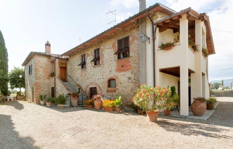 Appartamento in oasi  - Castiglion Fibocchi  - Apartemen