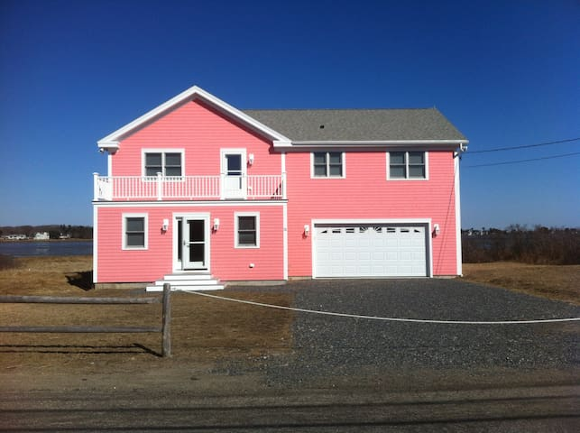 Oceanfront Home on Private Beach - Biddeford