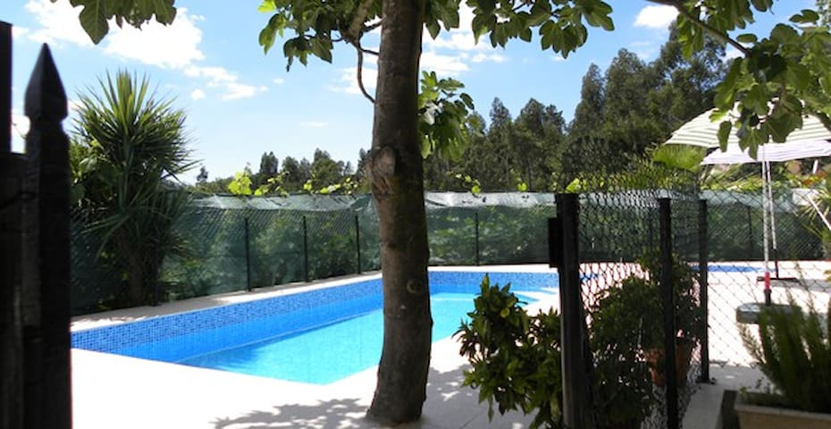 Floor1 in House with Pool 2-7people - Paredes Municipality - Lägenhet