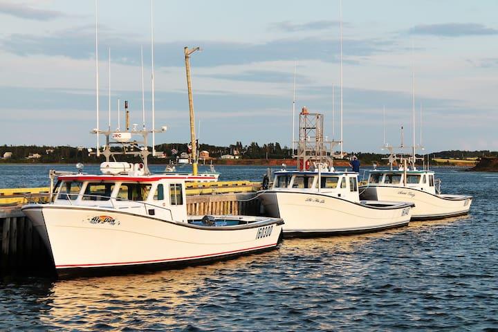 Great view- Rustico Harbor - SALTOFTHEHARBOR #5 - North Rustico - Leilighet