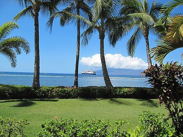 """Lahaina Shores Getaway"" OCEAN VIEW - Lahaina - Appartement"