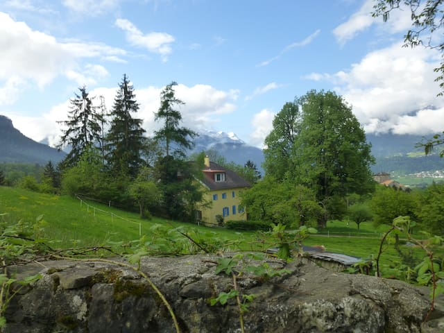Absolutely quiet, idyllic setting - Rodels - Appartement
