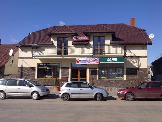 Rooms, lake Chodecz, POLAND - Gmina Chodecz - Huis