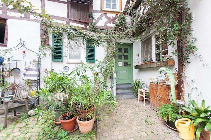 Wohnen im Fachwerkhaus von 1609 - Heppenheim - 公寓