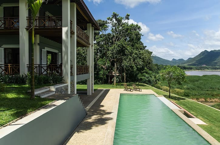 House with Pool on the Mekong - Luang Prabang - Maison