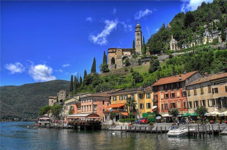 Relaxing stay on Lugano lake - Morcote - Hus
