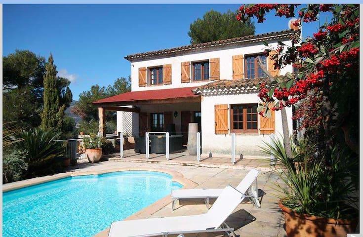 Villa with pool Nice France - Colomars