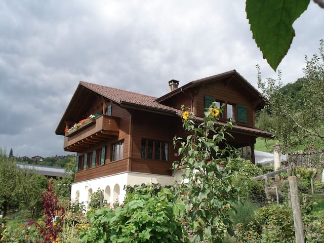 Sunny Studio, with view of the lake and mountains - CH 3654 Gunten - Apartamento