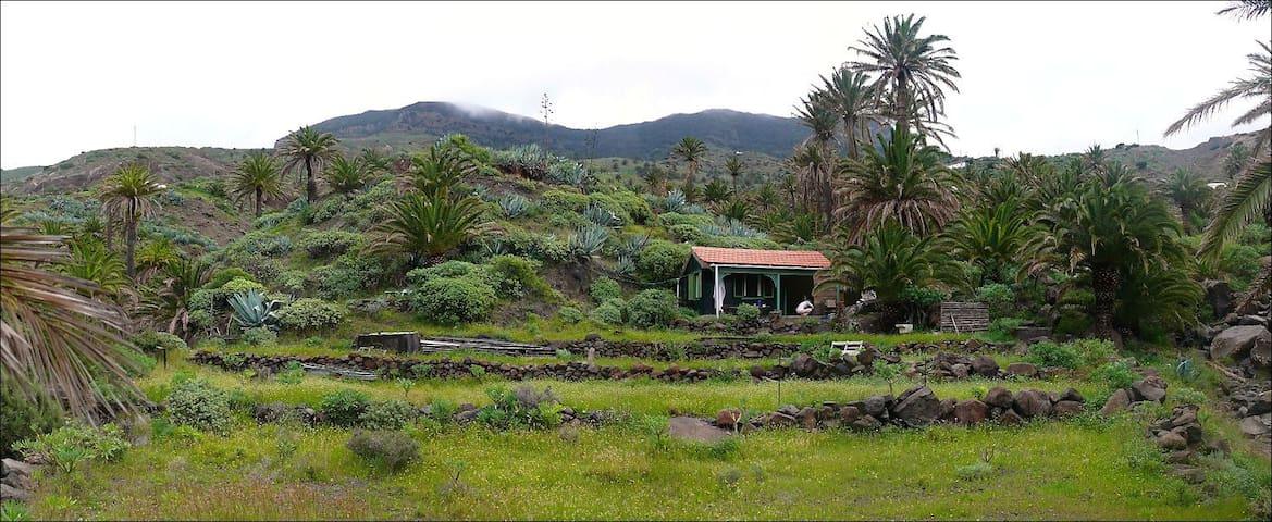 Cottage on private property in Tazo - Vallehermoso,La Gomera , Santa Cruz de Tenerife - Houten huisje
