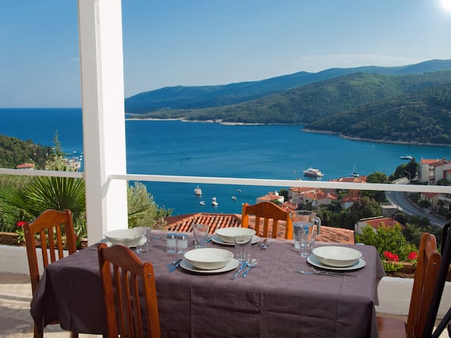 Apartment with beautiful Seaview  - Rabac - Daire