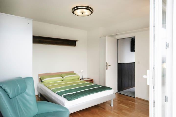 Gemütlche Wohnung mit Ausblick - Frankfurt