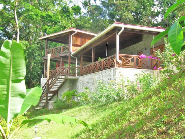 Luxious vacationhaus with a seeview - Castries City