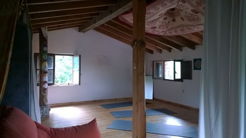Retreat in the forests of los Picos de Europa - Benia de Onís
