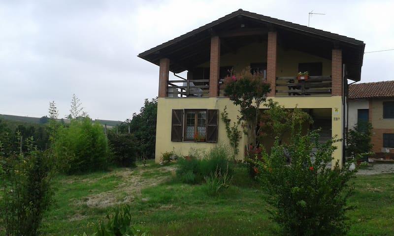 villetta nel verde nelle colline - Rocca Grimalda - Lägenhet