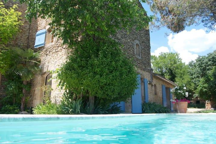 Lovely 17th Century Villa/ private pool/ Gordes - Gordes - 別荘