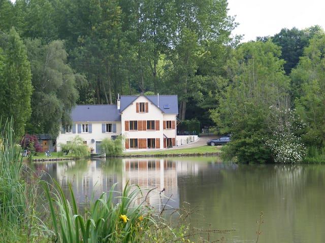 Lake View apartment (3 bedrooms) - Beaumont-Pied-de-Bœuf - Daire
