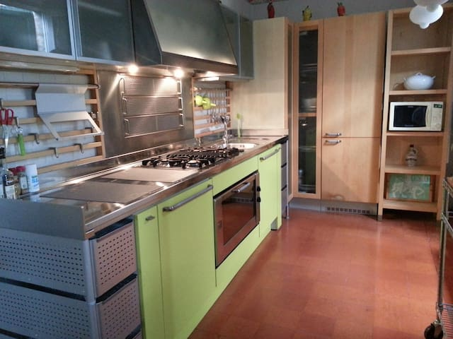 Charming apartment, garden, parking - Solignano - Appartement