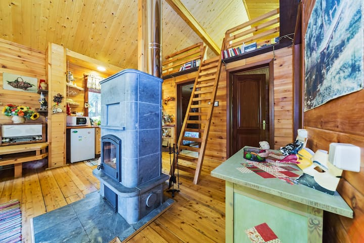 Great and cosy House in the forest - Solnechnogorskiy