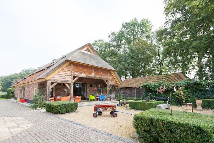 A home, into gorgeous countryside   - Heeten