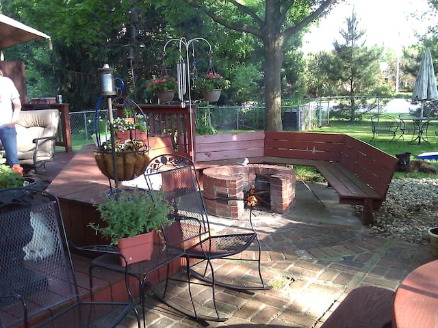 Nice area with amenities - Indianapolis - Huis