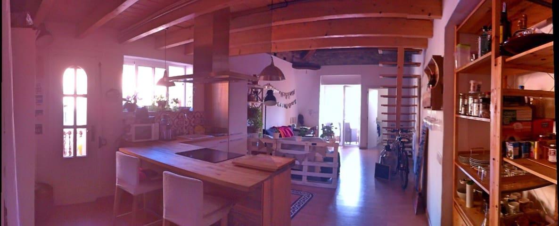 Romantic & cozy loft near Barcelona - Granollers